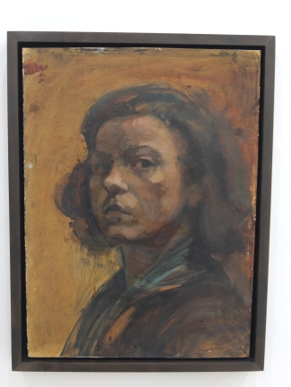 Maria Lassnig -- Self Portrait (1942)