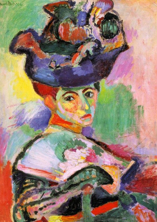Henri Matisse – Woman with a Hat (1905)